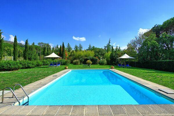 Villa Elisa pool