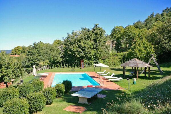 Villa Margherita 2, small villa near Cortona