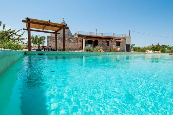 Trullo Sotto le Stelle puglia private pool