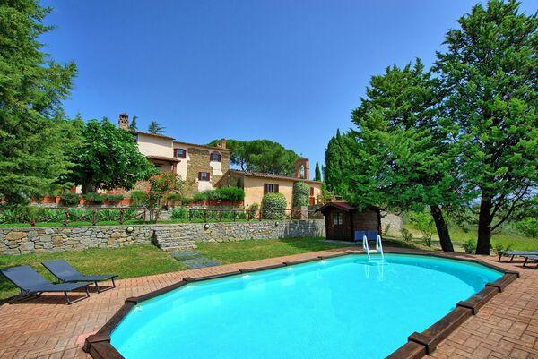 Villa Uccellaia, private pool, air con
