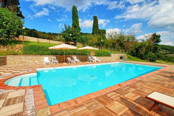 Borgo Toppo Umbria private pool
